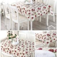 HH079 152x152cm Taplak Meja Anti Air Table Cloth Alas Meja Makan