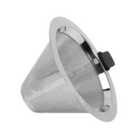 Stainless Steel Coffee Filter Pour Over Penyaring Coffee Dripper Con
