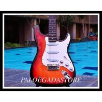 Gitar Listrik Fender Stratocaster Mainan & Hobi Lainnya