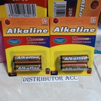 2 PCS Battery AA / Baterai / Batere / Batre Alkaline Dynamax Power A2