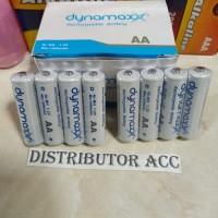 Baterai Batre Battery Cas Charge Dynamax AA Rechargeable 1000 mAh 1.2V