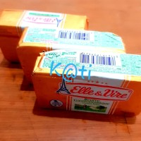 Butter Elle and Vire packet salted 200gr