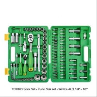 SOCKET SET 94 PCS 6 PT TEKIRO Kre 644