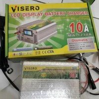 visero digital display charger accu 12v 10 full otomatis
