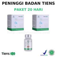 Paket 20 Hari Obat Peninggi Badan Tiens NHCP Zinc