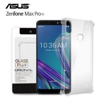 Premium Soft Case Asus Zenfone Max Pro M1 Clear - Anti Crack Glass Pro