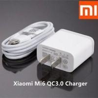 Travel Charger Xiaomi Mi6 / Xiao MI 3A 9V Original Fast Charging TypeC