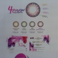 Softlens Warna Bulanan X2 Bio Four by Exoticon Limited