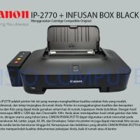 PRINTER CANON PIXMA IP 2770 INFUS BOX COMPATIBLE ORIGINAL
