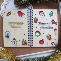 Xmas Notebook A5 (Colorful Xmas)