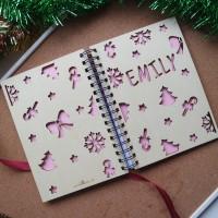 Xmas Notebook A5 (Monochrome Xmas)