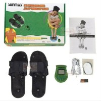 Alat Pijat Kaki Sunmas - Sandal Kesehatan Elektrik