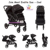 Joie Meet Evalite Duo Two Tone Black / Stroller / Kereta Dorong Bayi