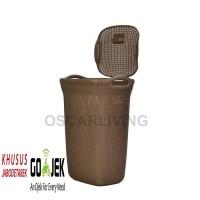Keranjang Loundry / Keranjang baju kotor cucian OLYMPLAST
