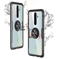 Case Redmi Note 8 / Note 8 Pro Fuze Carbon Stand Holder Ring Casing