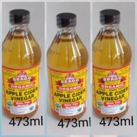 Bragg Apple cider vinegar 473ml 3pcs
