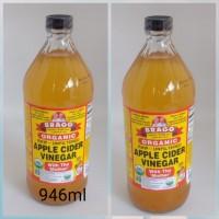 Bragg Apple cider vinegar 946ml 2pcs