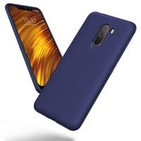 Xiaomi Pocophone F1 Case Shockproof Anti Slip Slim Black Matte Fiber