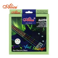 Alice A609C Senar Bass Elektrik Warna Warni Colorful Electric Strings