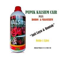 Pupuk Anti Layu Rontok Kalsium Cair Plus Boron Magnesium Kalsitor 1ltr
