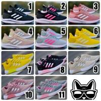 Sepatu Wanita Adidas Neo Jogging Sneakers Sport Women