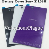 BackDoor Back Casing Glass Tutup Baterai SONY XPERIA Z C6603 OEM KACA