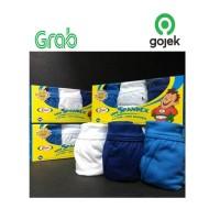 1 Box Isi 3 Pcs Celana Dalam Anak Laki-Laki Anti Bacteria Rider R 210