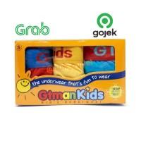 1 Box Isi 3 Pcs Celana Dalam / CD anak laki-laki GT Man GTKL-Kids