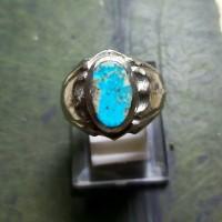 Pirus Persia Blue Fancy - Cincin Batu Akik