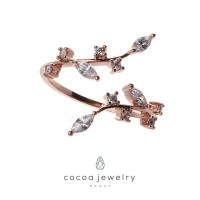 Cocoa Jewelry Cincin Tinker Bell Rose Gold