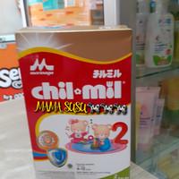 SUSU CHILMIL REGULER 800GR 800 GRAM TAHAP 2 MORINAGA CHIL*MIL 6-12 BUL