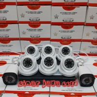 PAKET CCTV 8CHANEL AHD FULL HD 4MP(KMPLIT TGGL PSNG AJA)