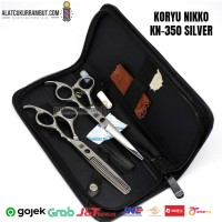 Gunting Potong Rambut Gunting Sasak KORYU NIKKO Paket Gunting KN 350
