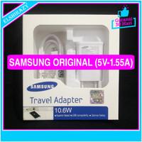 ORIGINAL 100% Charger Samsung Galaxy J3 J3 Pro 5V - 1.55A (10.6 Watt) - Putih