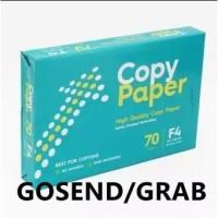 KHUSUS GOSEND! Copy Paper F4 70gram / Kertas Fotokopi (1 RIM)