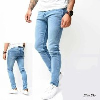 Celana Jeans Slimfit Pria | HItam | BIoblitz | BIru | Skinny