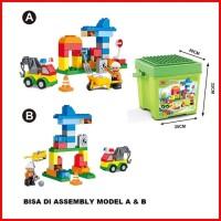 Mainan edukasi balok LEGO DUPLO anak City building
