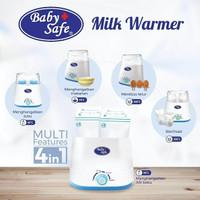 Baby Safe Twin Bottle Warmer Babysafe Alat Steril Botol Susu Bayi