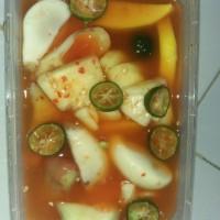 asinan buah si emak ( mangga muda, jambu kristal, salak, nanas, bangku