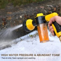 Wash Water Spray Gun 8 Mode High Pressure Busa Air Cuci Mobil Motor