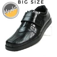 Sepatu Pria Casual Kulit Asli Big Size Semi Formal Model Strap Y6060
