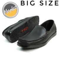 Sepatu Pria Casual Slip On Semi Formal Kulit Asli Big Size Y0777