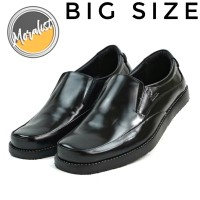 Sepatu Pantofel Pria Casual Size Besar Formal Kulit Asli Y5040