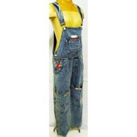 521-526* 10-13 tahun Overall baju kodok monyet jeans panjang anak - 10-11 tahun