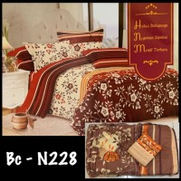 PROMO BED COVER King size sprei PALING MURAH Motif Bunga BEDSHEET BAD