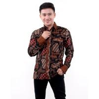 Kemeja Batik Pria Lengan Panjang Sekar Jagad