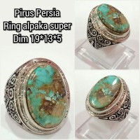 cincin batu akik pirus persia 19135