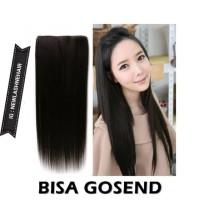 Hairclip smoothing panjang 70cm lurus panjang tidak mengkilat