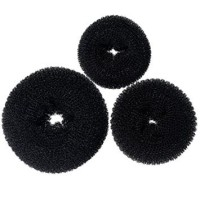 Hair Donut donut bun donat rambut busa donat Size S