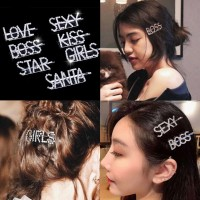 Timmy Queen Jepit Korea Crystal tq400 - Hairpin - Hairclip - Jepit ram